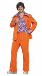 Leisure Suit 70s Adult Costume Orange_thumb.jpg