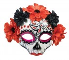 Day of the Dead Female Skull Mask Red_thumb.jpg