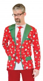 Ugly Christmas Suit Tie T-Shirt Adult_thumb.jpg