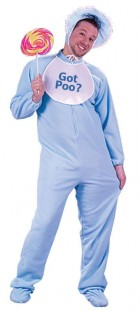 Be My Baby Blue Adult Costume One Size_thumb.jpg