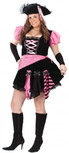 Pirate Pink Punk Adult Plus Women's Costume_thumb.jpg