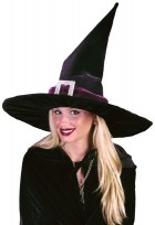 Witch Hat Black Pleated Velour_thumb.jpg