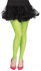 Footless Green Lace 80's Adult Tights_thumb.jpg