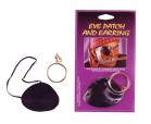Pirate Satin Eye Patch with Earring Adult Costume Accessory_thumb.jpg