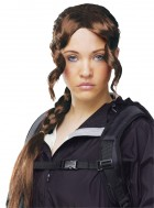 Hunger Games Katniss Everdeen Long French Braid Costume Wig Brown_thumb.jpg