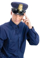 Police Office Blue Cap with Badge Adult Costume Hat_thumb.jpg