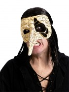 Adult Venetian Carnival Raven Bird Creeper Mask Ivory_thumb.jpg