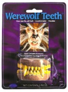 Adult Werewolf Yellow Teeth with Fangs Costume Accessory_thumb.jpg