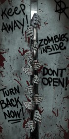 Zombie Door Cover Halloween Prop Decoration Breakout_thumb.jpg