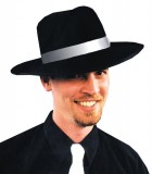 Zoot Classic Mafia Mobster Gangster Hat Black White_thumb.jpg