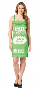 Taco Bell Verde Sauce Packet Dress Adult Costume_thumb.jpg