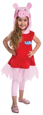 Peppa Pig Dress Deluxe Toddler Costume 2T_thumb.jpg