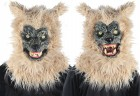 Animated Blonde Werewolf Mask With Sound Adult Costume Accessory_thumb.jpg
