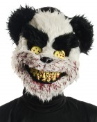 Charles Black and White Evil Teddy Bear Adult Mask_thumb.jpg