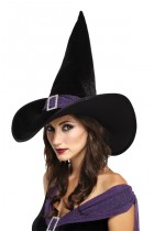 Elegant Witch Hat Black Purple_thumb.jpg