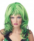 Hard Rockin Witch Wig Costume Accessory Black Green_thumb.jpg