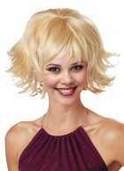 1920s Trippy Shag Disco Costume Retro Wig Blonde_thumb.jpg