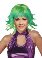 1920s Trippy Shag Disco Costume Retro Wig Lemon Lime_thumb.jpg