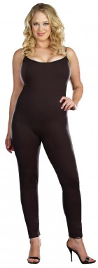 Unitard Sleeveless Jumpsuit Black Adult Plus Costume_thumb.jpg