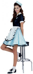 Car Hop Girl  Adult Women's Costume_thumb.jpg
