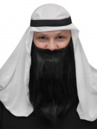 Black Full Beard and Mustache Adult Men's Arabian Costume Accessory_thumb.jpg