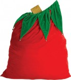 Santa Claus Velvet Gifts Sack Bag with Bell Christmas Costume Accessory_thumb.jpg