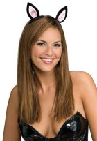 Kitty Cat Ears On Clips Adult Costume Party Accessory_thumb.jpg