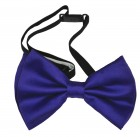 Satin Purple Bow Tie Stag Party Costume Neckwear_thumb.jpg
