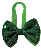 Light Up Sequin Bow Tie Stag Costume Party Accessory Green_thumb.jpg