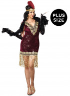 Sophisticated Lady 1920's Plus Size Flapper Adult Costume_thumb.jpg