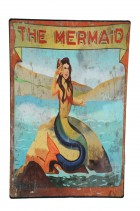 The Mermaid Metal Carnival Sign Halloween Prop_thumb.jpg