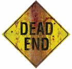 Metal Sign Dead End Halloween Prop_thumb.jpg