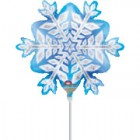 Mini Shape Snowflake Prismatic Foil Balloon_thumb.jpg