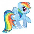 Shape My Little Pony Rainbow Dash 71cm x 68cm Foil Balloon_thumb.jpg