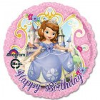Sofia the First Happy Birthday 45cm Foil Balloon_thumb.jpg