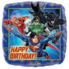 Justice League 45cm Happy Birthday Square Foil Balloon_thumb.jpg