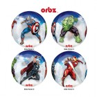 Shape Orbz Avenbers 38cm x 40cm 4 Sided Clear See Through Balloon_thumb.jpg