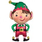 Shape Jolly Christmas Elf Foil Balloon_thumb.jpg