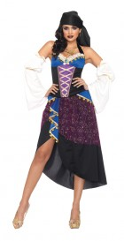 Tarot Card Gypsy Fortune Teller Dress Women's Costume_thumb.jpg