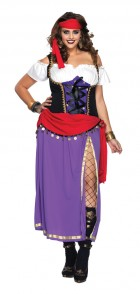Traveling Gypsy Adult Plus Women's Costume_thumb.jpg