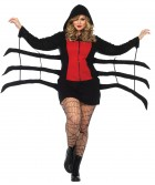 Spider Black Widow Cozy Adult Plus Costume_thumb.jpg