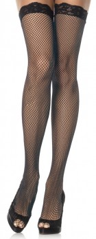Women's Sexy Fishnet Stockings with Lace Top_thumb.jpg
