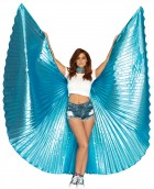 Metallic Blue Pleated Wings 360 Degree Adult Costume Accessory_thumb.jpg