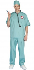 Surgeon Scrubs Adult Costume One Size_thumb.jpg