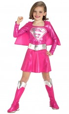 Pink Supergirl Toddler / Child Girl's Costume_thumb.jpg