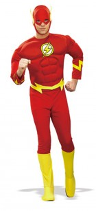 Adults The Flash Muscle Chest Fancy Dress Costume_thumb.jpg