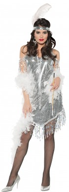 Swingin' Silver Flapper Adult Costume_thumb.jpg