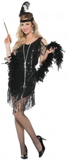 Swingin' Black Flapper Adult Costume_thumb.jpg