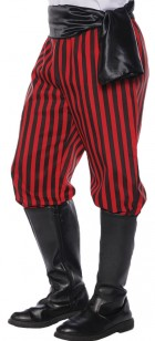 Red Black Pirate Pants Adult_thumb.jpg