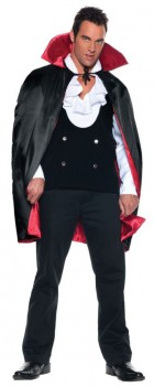Deluxe Reversible Vampire Cape Adult Costume One Size_thumb.jpg